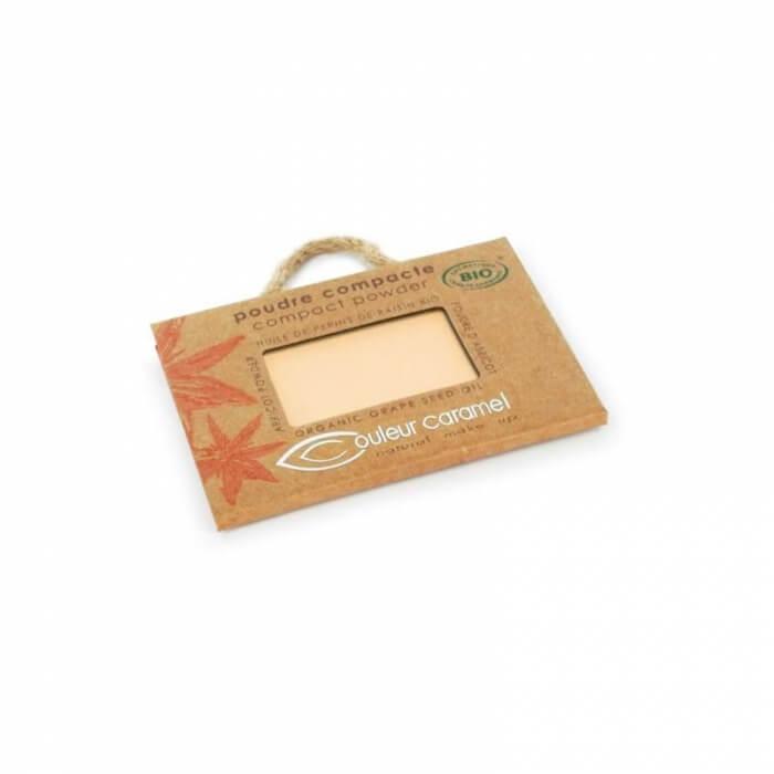 Poudre compacte Cipria compatta 02 beige clair – Couleur Caramel