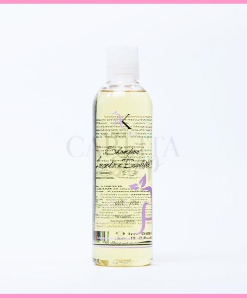 Shampoo per capelli grassi con lavanda e eucalipto Alkemilla 53608dd82b05