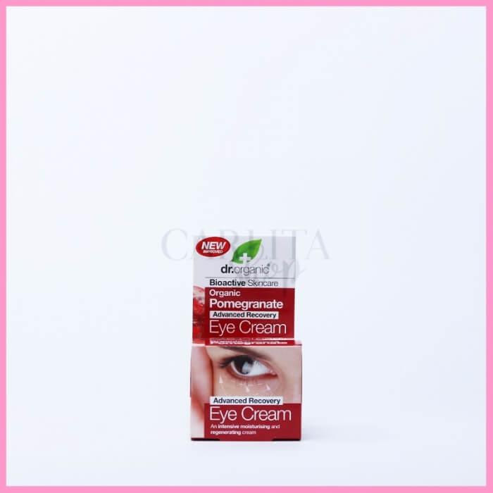 Crema contorno occhi biologica al melograno Dr Organic