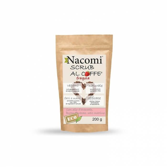 Scrub corpo al caffe con fragola anticellulite Nacomi