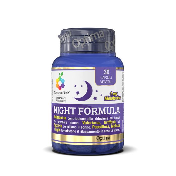 NVI11037 Night Formula,30 capsule, 550 mg